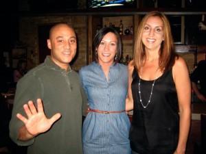 Joe, Sarah and Angie