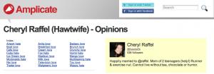 @hawtwife Amplicate Opinions