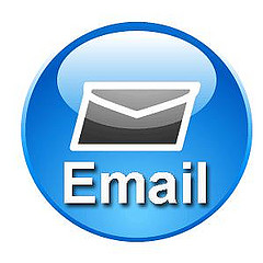 Don't forget email to promote your blog or company website