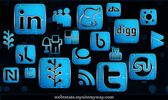 social media channels use as many as you can