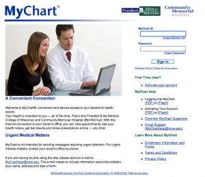 MyChartLink.com for MCW
