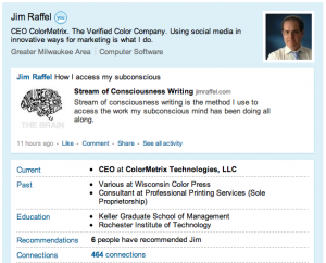 Raffel Linkedin Profile