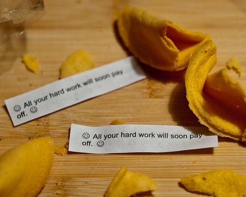 keep working hard it's worth it.
