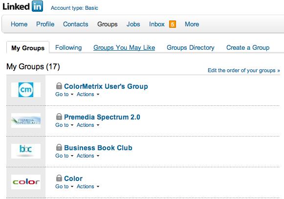 image of Linkedin Groups