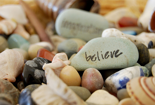 image of believe more than trust
