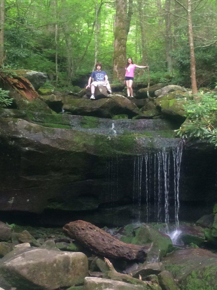 Image of Small Falls Rainbow Falls Trail